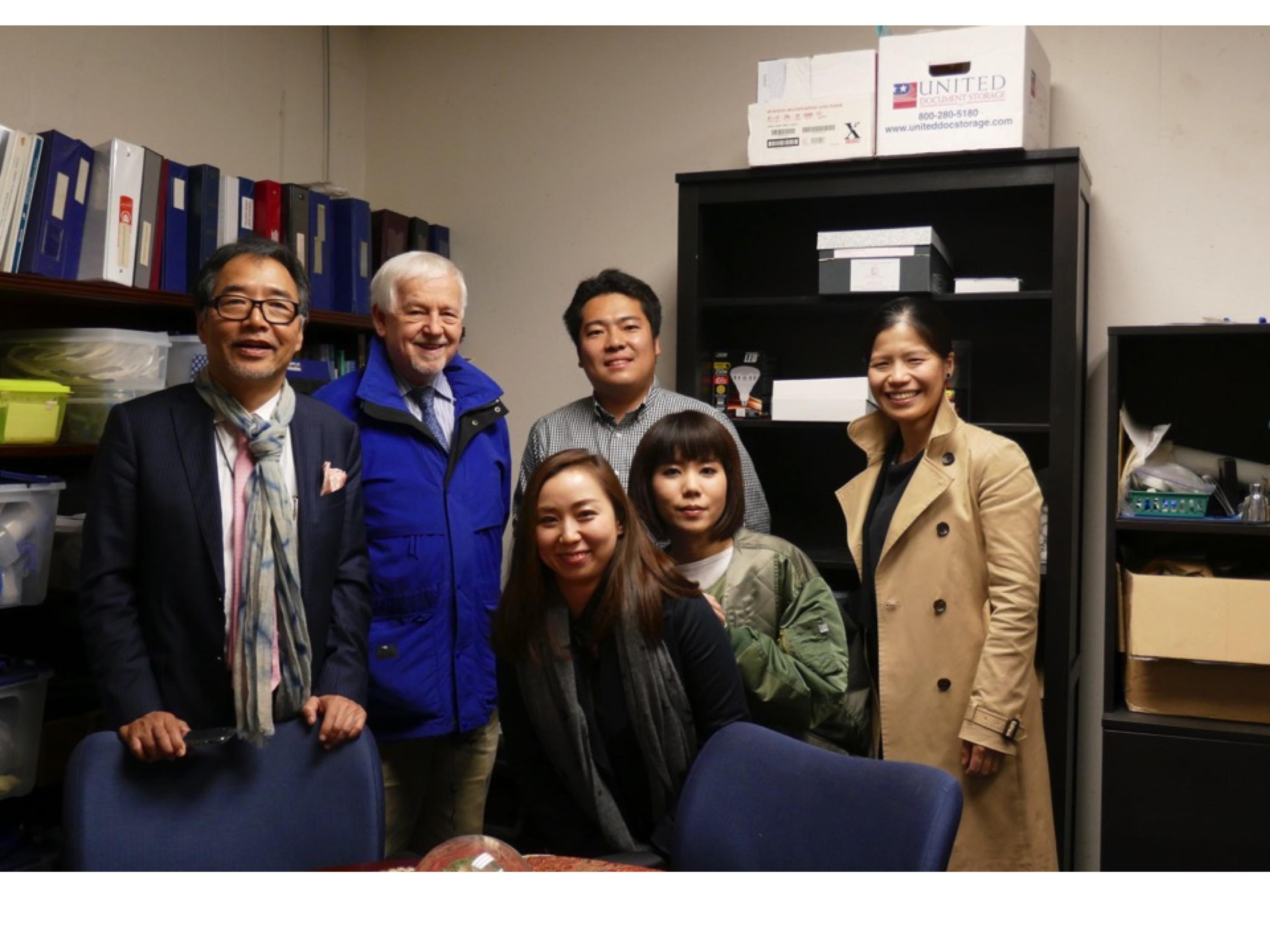 University of Southern CaliforniaのGlenn T. Clark先生とミーティングを行いました
